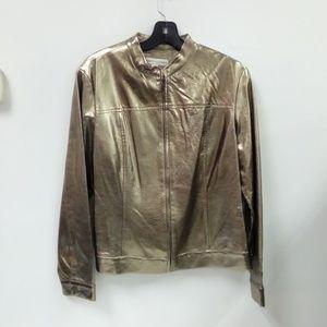 NWOT Gorgeous Bamboo Traders Gold Jacket Sz. M